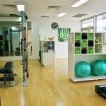 Personal training studio at Wishart