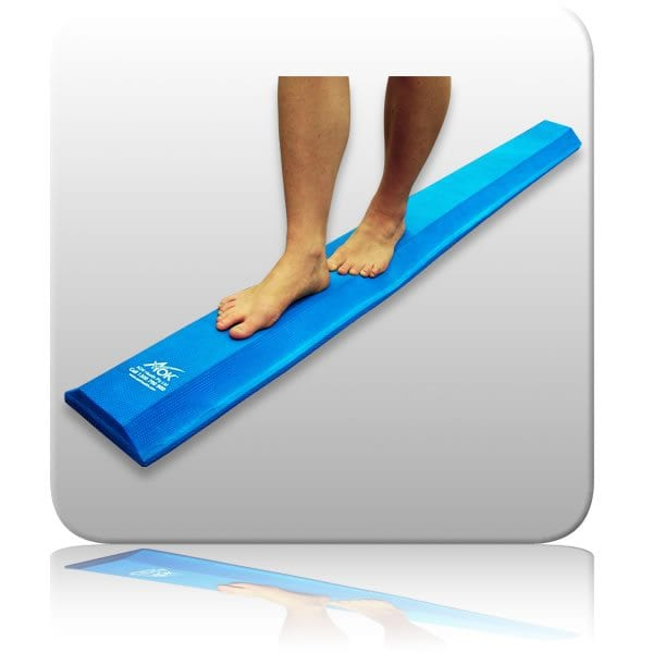 Balance beam for core strength, stability and balance exercises