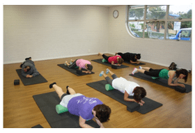 Core Pilates classes