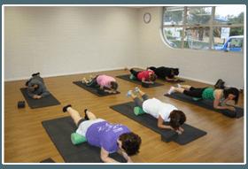 Pilates class on matts near Mt Gravatt